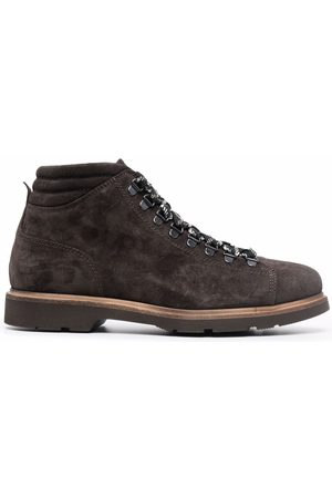 corneliani Lace-up leather boots