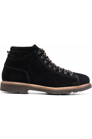 corneliani Men Lace-up Boots - Lace-up leather boots