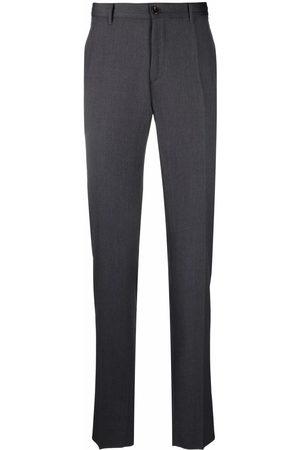 Incotex Men Skinny Pants - Slim-fit straight-leg trousers - Grey