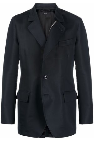 Tom Ford Men Blazers - Notched-lapel single-breasted jacket