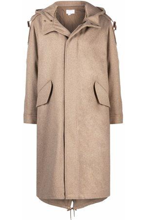 A.P.C. Women Trench Coats - Oversized wool raincoat - Neutrals