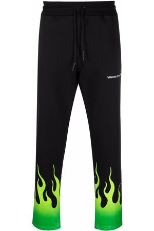 Vision Of Super Fire print joggers