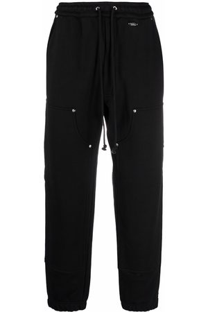 032c Straight-leg organic cotton track pants