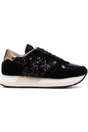 sun68 Sequin-embellished low-top sneakers