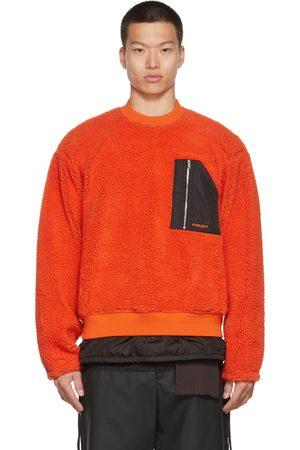 AMBUSH Men Sweatshirts - Wool Fleece Sweatshirt