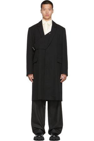 AMBUSH Men Blazers - Single-Breasted Belted Coat