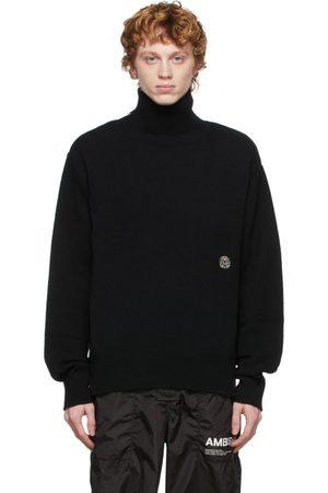 AMBUSH Wool Zip-Up Turtleneck