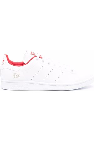 adidas Logo-patch low-top leather sneakers
