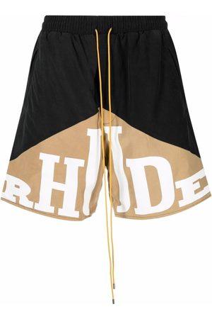 Rhude Logo-print shorts