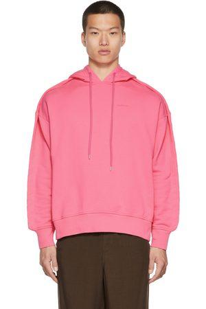 AMBUSH Men Hoodies - Pink Stitched Edge Hoodie