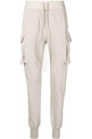 Rick Owens Drawstring organic cargo pants - Neutrals