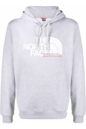The North Face Logo-printed hoodie - Grey