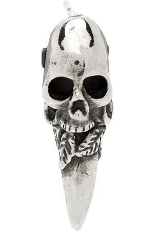 EMANUELE BICOCCHI Men Studs - Skull Single Earring
