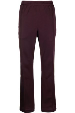 Pins & Needles Logo-embroidered straight-leg track pants