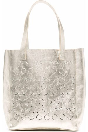 BONPOINT Perforated-cherry tote bag