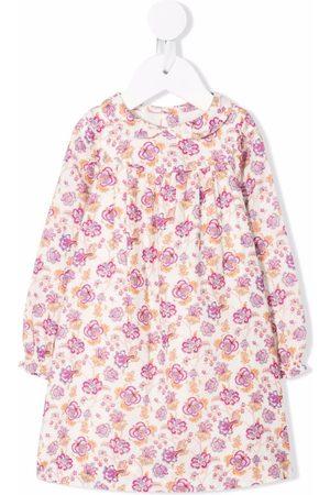 BONPOINT Baby Printed Dresses - Floral print dress - Neutrals