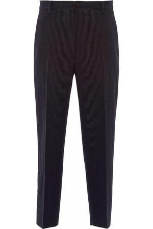 Prada Pinstripe-pattern tapered trousers