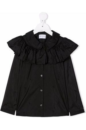 Wolf & Rita Girls Blouses - Daisy ruffle-trim blouse