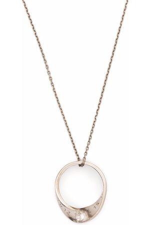 Maison Margiela Necklaces - Twisted ring pendant necklace