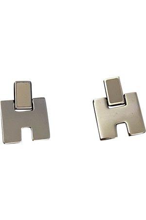 Hermès Silver earrings