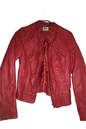 ONLY Women Gilets - Leather short vest