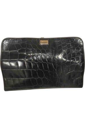 Gianfranco Ferré Leather clutch bag