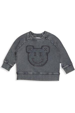 Huxbaby Sweatshirts - Baby's, Little Kid's & Kid's Digi Smile Sweatshirt