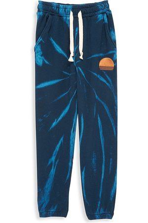 Tiny Whales Boys Neckties - Little Boy's & Boy's Logo Tie-Dye Sweatpants