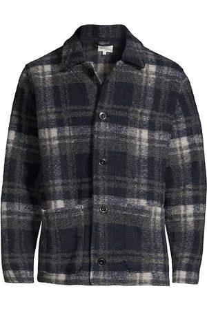 HARTFORD Plaid Wool Pile Chore Jacket