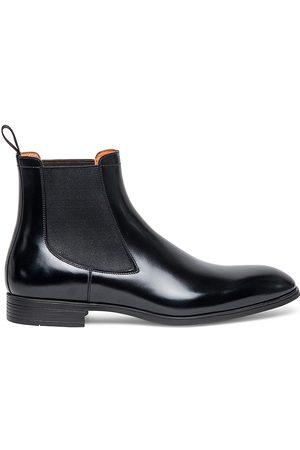 santoni Destoxify Leather Chelsea Boots