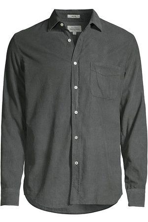HARTFORD Men Denim - Fine-Wale Corduroy Shirt