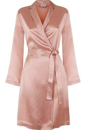 La Perla Silk Satin Short Robe