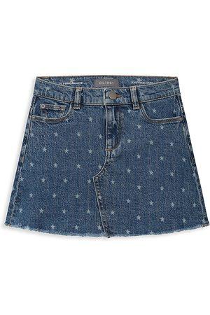 DL1961 Girls Mini Skirts - DL1961 Premium Denim Little Girl's Jenny Denim Mini Skirt
