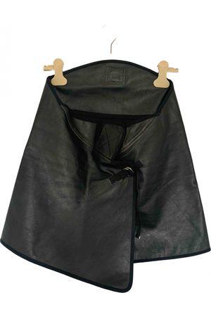 Maison Martin Margiela Leather mini skirt