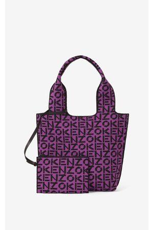 Kenzo Women Tote Bags - Skuba small monogram tote bag
