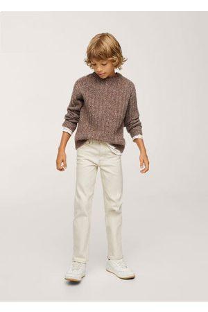 MANGO Straight cotton pants