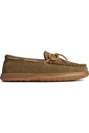 Sperry Top-Sider Men Loafers - Men's Sperry Doyal Moccasin Sage/Camo, Size 7
