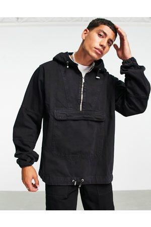 Bolongaro Denim popover jacket