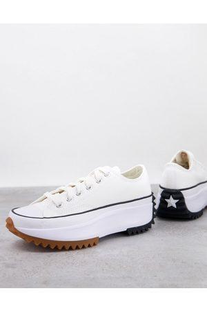 Converse Run Star Hike Ox canvas platform sneakers in