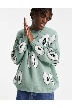 ASOS Knitted sweater with eye design in