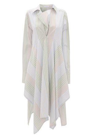 J.W.Anderson Women Asymmetrical Dresses - Asymmetric Shirt Dress