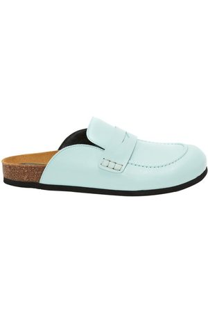 J.W.Anderson Men Loafers - Men's Leather Loafer Mules