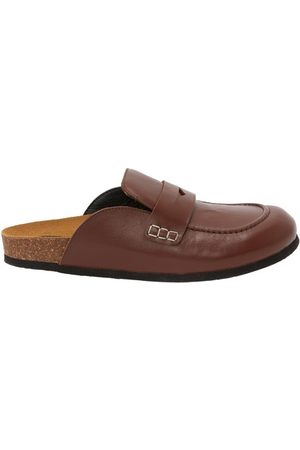 J.W.Anderson Men's Leather Loafer Mules