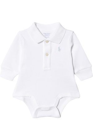 Ralph Lauren Kids - Long Sleeve Interlock Body with Small Pony - 6 months - - Baby bodies