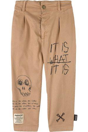Nununu Total Fw21 Chino Pants Stone - 3-4 Years - - Chinos
