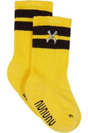 Nununu Cross Bone Socks - 24-27 EU - - Socks