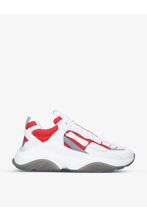 AMIRI Men Sneakers - Bone Runner logo-print leather and mesh trainers