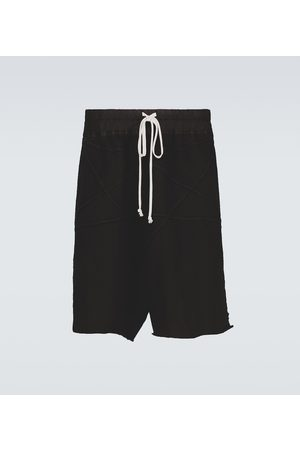 Rick Owens Penta cotton drawstring shorts