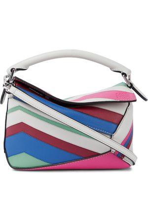 Loewe Women Purses - Puzzle Mini leather shoulder bag