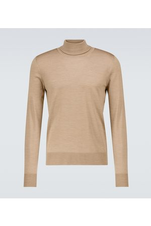 The Row Emile wool and silk turtleneck